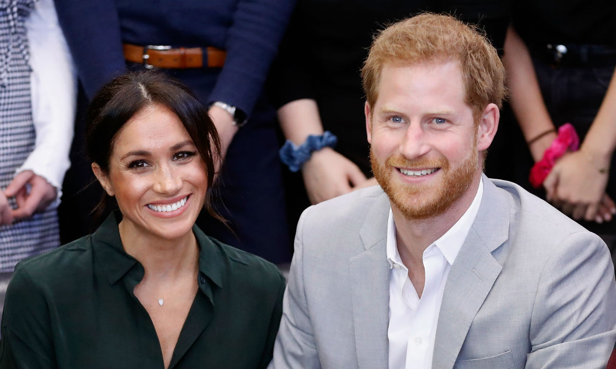 Prince Harry and Meghan Marlke